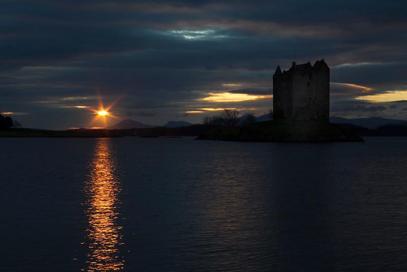 Stalker Castle. Argyll. Scotland