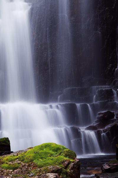 Waterfall at Assynt. Scotland. John Chapman.