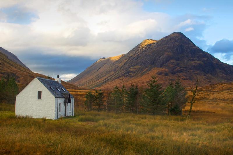 White Cottage Glencoe.