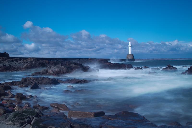 Bay of Nigg, Aberdeen. Scotland.