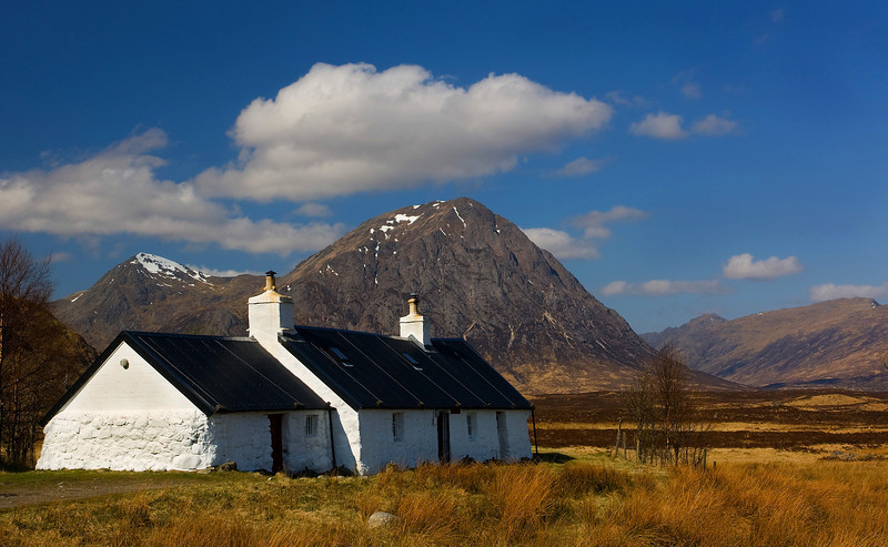 Black Rock cottage. Glencoe.