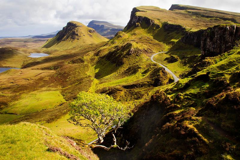 Quirang Mountain Range. Isle of Skye. John Chapman.