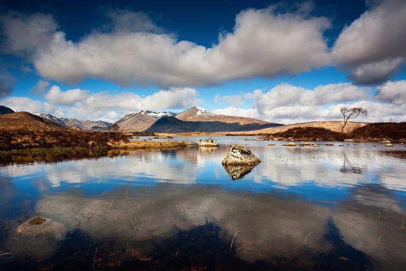 Lochan Na Claise. Rannoch.