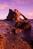 Bow Fiddle Rock. N.E.Scotland.