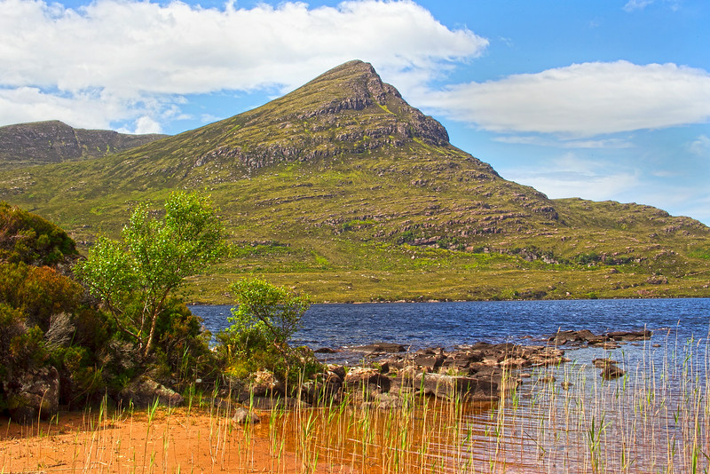 The Mountain of Coigach. Sutherland. John Chapman.