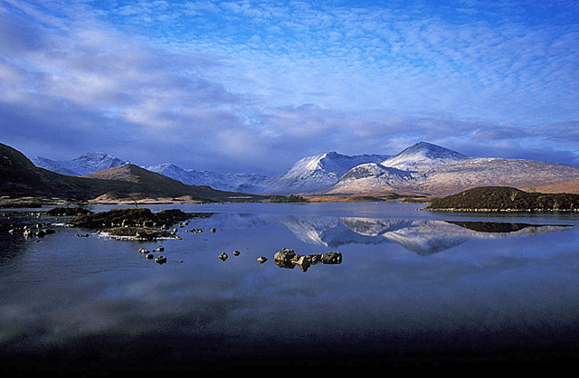 Black Mount Loch Ba