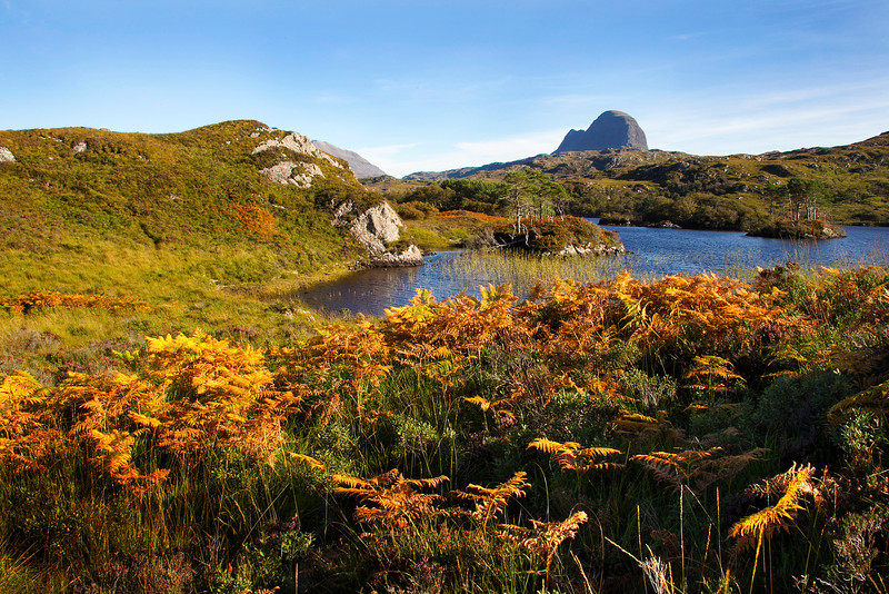 The Mountain of Suilven. Assynt. Sutherland.