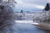 River Dee near Aboyne. Aberdeenshire. Pic. in the Local Press.