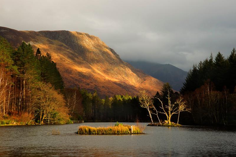 Lochan at Glencoe. Scotland.