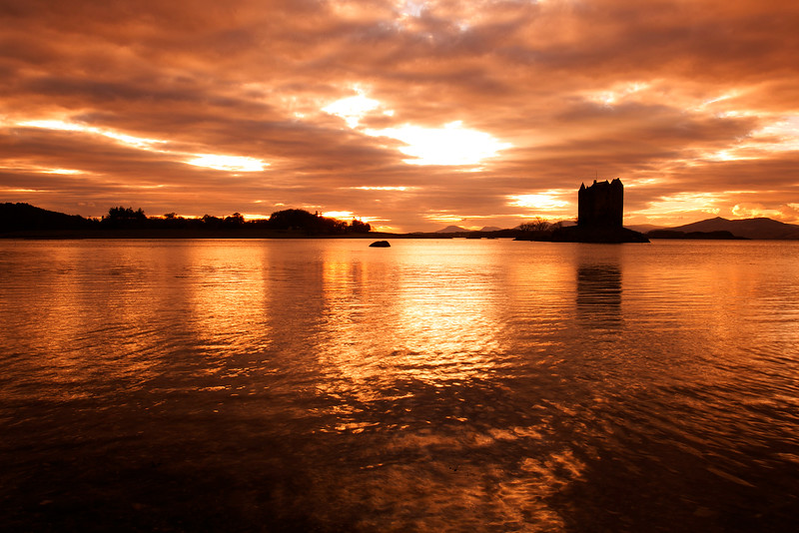 Stalker Castle. John Chapman.