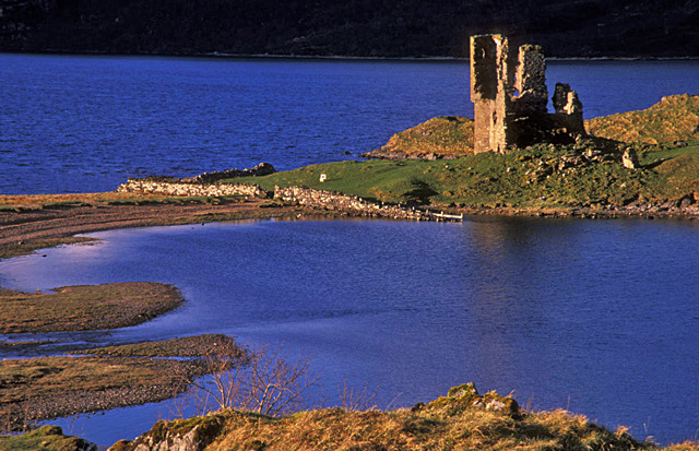 Ardveck Castle Loch Assynt