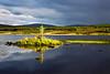 Loch Borealan Assynt Sutherland. Evening Light. John Chapman.