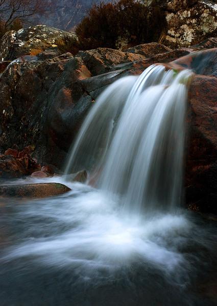 Waterfall. Glencoe.