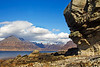Elgol looking towards The Cuillins of Skye . Accepted in the Local Newspaper.