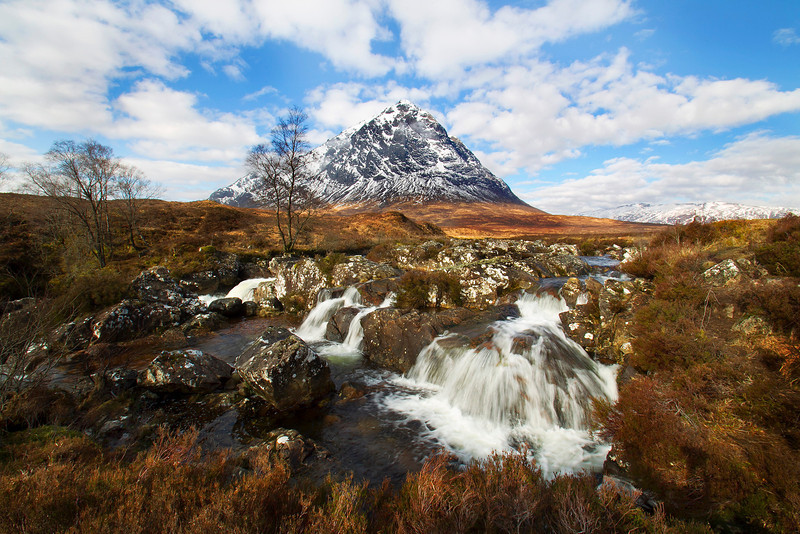 Buachaille Etive Mor Glencoe. Picture accepted in the Local Newspaper.