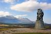 War Memorial. Ben Nevis Range behind.