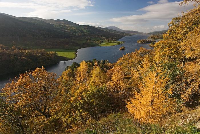 Queen's View Loch Tummel.