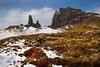 The Old Man of Storr. Skye. Picture in the Local Newspaper.