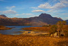 Loch Maree with the Mountain Slioch Behind. John Chapman.