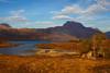 Loch Maree with the Mountain Slioch Behind. John Chapman.