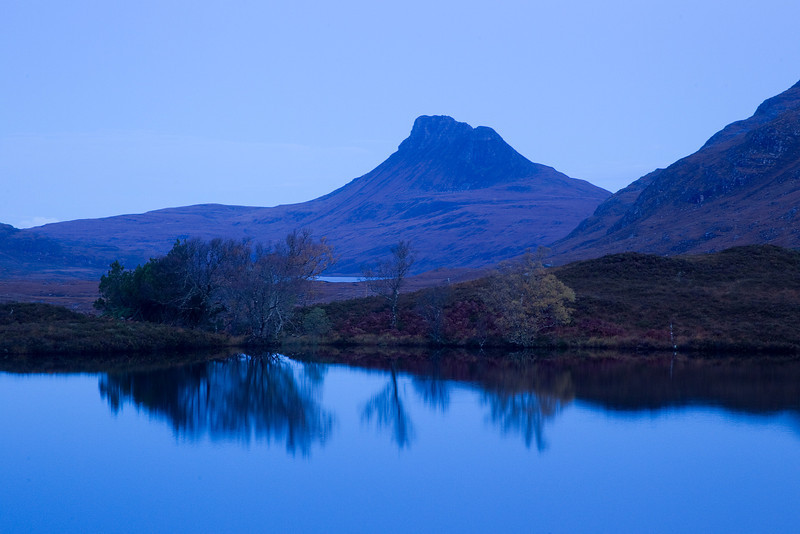 Stac Polly in early morning light.