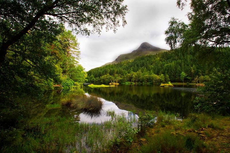 Lochan in Glencoe. John Chapman.