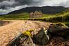 Calda House Ruin. Assynt. Sutherland.
