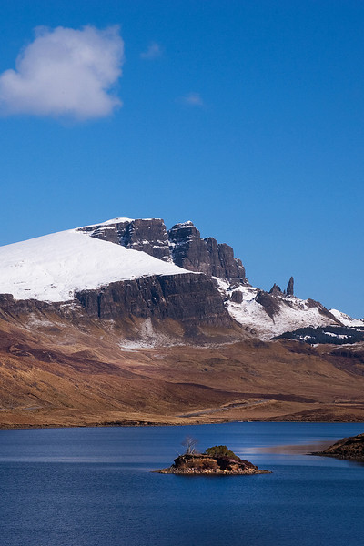 Old Man of Storr. Island of Skye. North West Scotland.