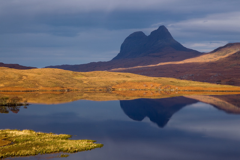 Suiliven. Assynt. Sutherland. Picture  in the local Newspaper.