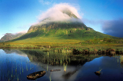 Buachaille Etive Beg. RPS International Slide Exhibition 2003 Landscape Winner and Silver Medal.