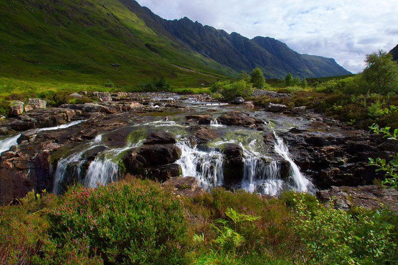Waterfall at Glencoe. Accepted in the Local newspaper.