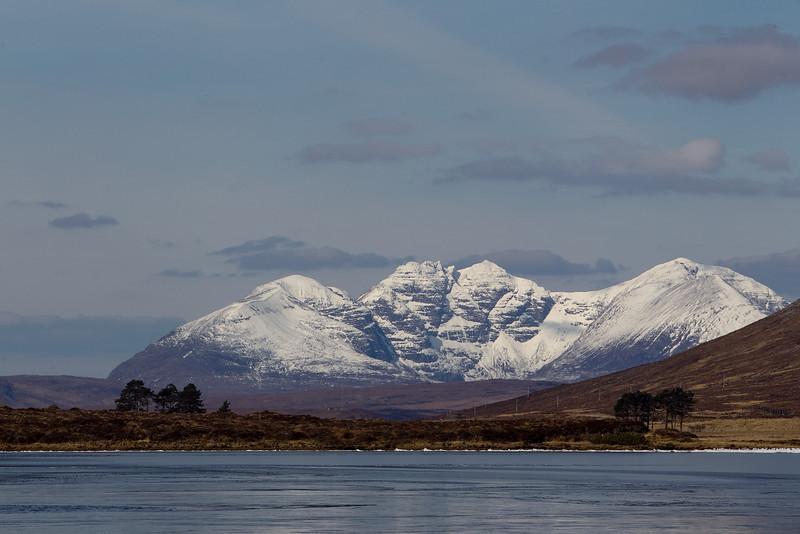 An Teallach. Wester Ross. Scotland.