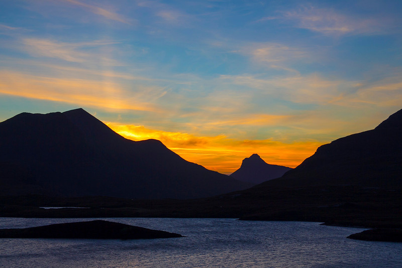 Stac Polly (Pollaidh) Assynt Sutherland.