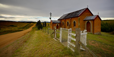 The Old Country Church. ~WIDE VIEW~
