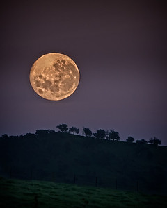 Moonset after the Blood Moon #2