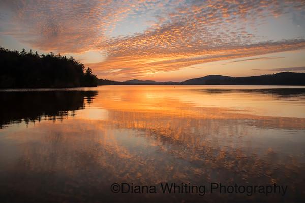 Seventh Lake Sunset