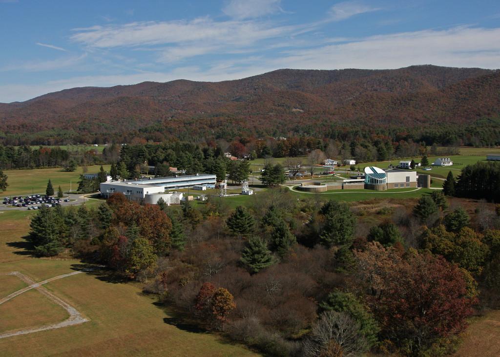 Greenbank Observatory visitor center