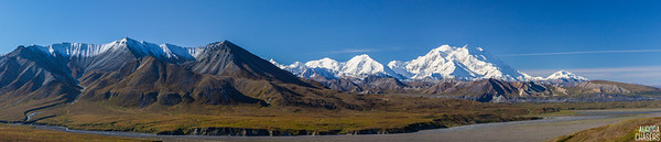 McKinley Panorama from Eielson Visitors Center