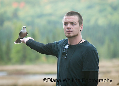 Doug with Gray Jay