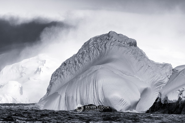 Iceberg in the Melchior Islands of Antarctica