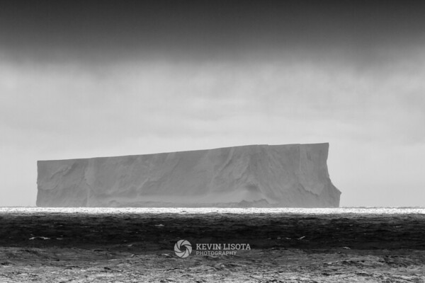 Tabular iceberg in the South Shetland Islands