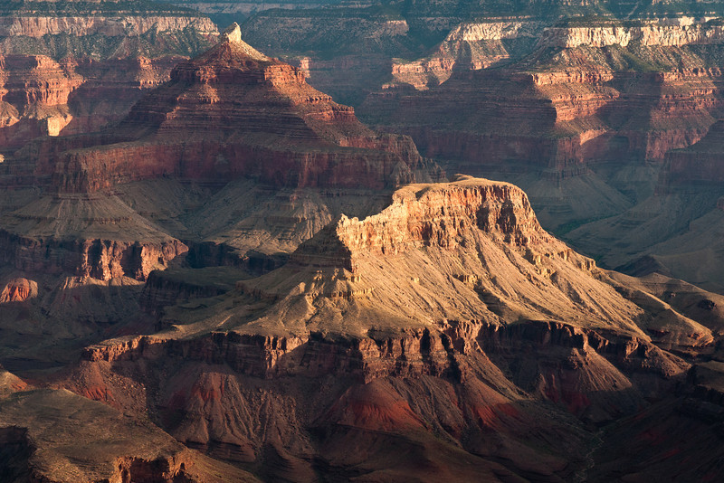 """""""Early Morning Details"""" - Arizona, Grand Canyon National Park   Recommended Print sizes*:  4x6      8x12     12x18     16x24     20x30     24x36 *When ordering other sizes make sure to adjust the cropping at checkout*  © JP Diroll 2012"""