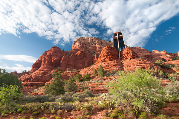"""Chapel of the Holy Cross"" - Arizona, Sedona   Recommended Print sizes*:  4x6  