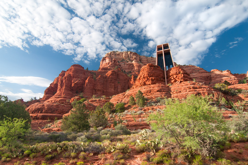 """""""Chapel of the Holy Cross"""" - Arizona, Sedona   Recommended Print sizes*:  4x6  