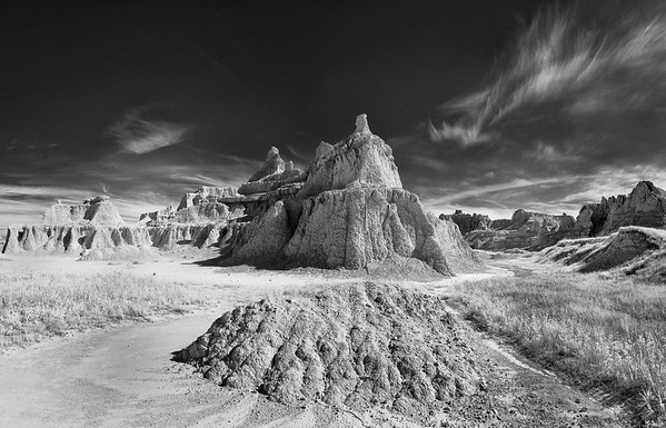 Badlands in Infrared