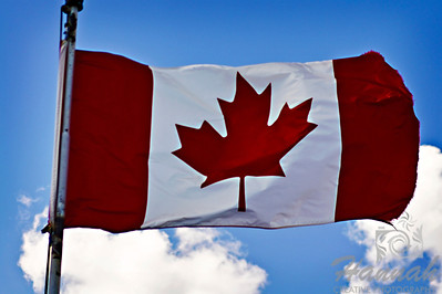 Flag of Canada Shot at Banff National Park in Alberta, Canada  © Copyright Hannah Pastrana Prieto