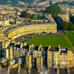 The Royal Crescent, Bath, Somerset, UK