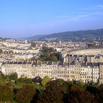 Marlborough Buildings - Aerial Image of Bath, Somerset, UK