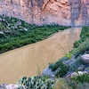 The Rio Grande cutting through Santa Elena Canyon