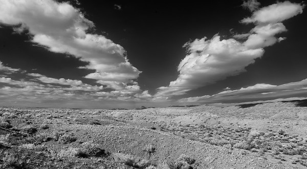 Desert and Clouds